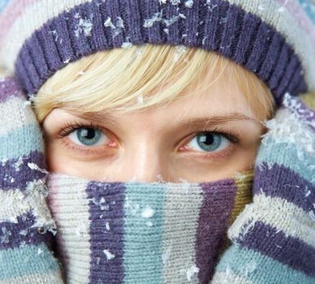 Как уберечь кожу зимой!