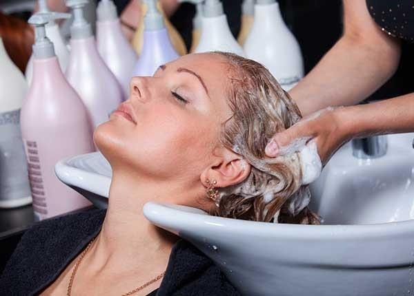 мытьё волос
