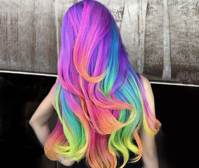 Цветные волосы. Волосы следующего поколения