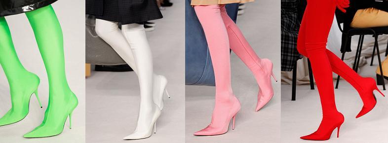 Туфли-чулки