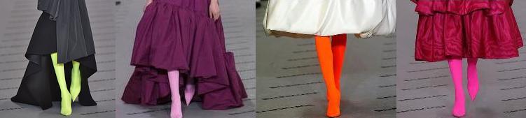 Туфли-чулки с платьем