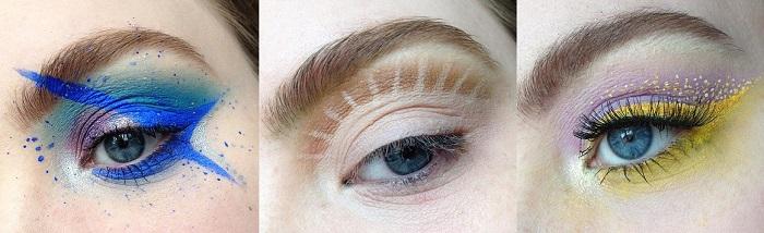 Цветовые теней для глаз