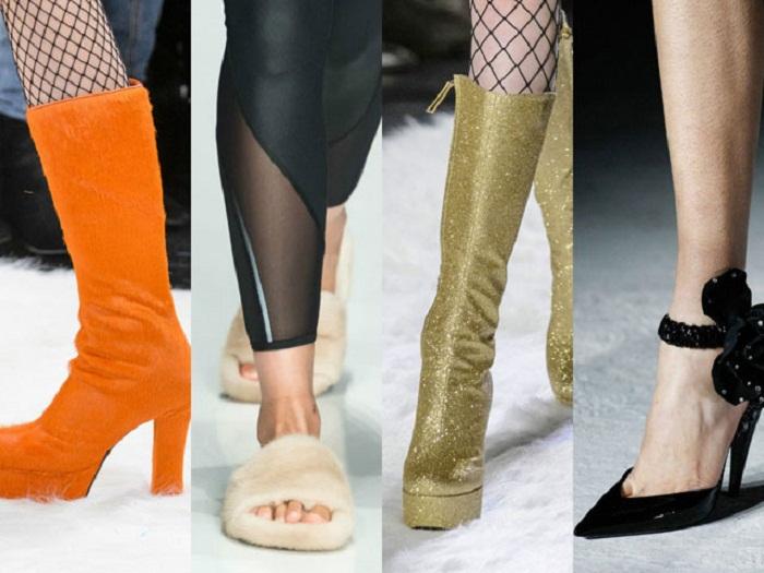 Какая мода на обувь осень 2017: от реализма до футуризма