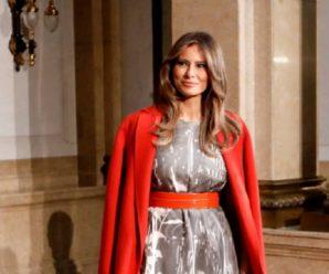Мелания Трамп: элегантные наряды первой леди США