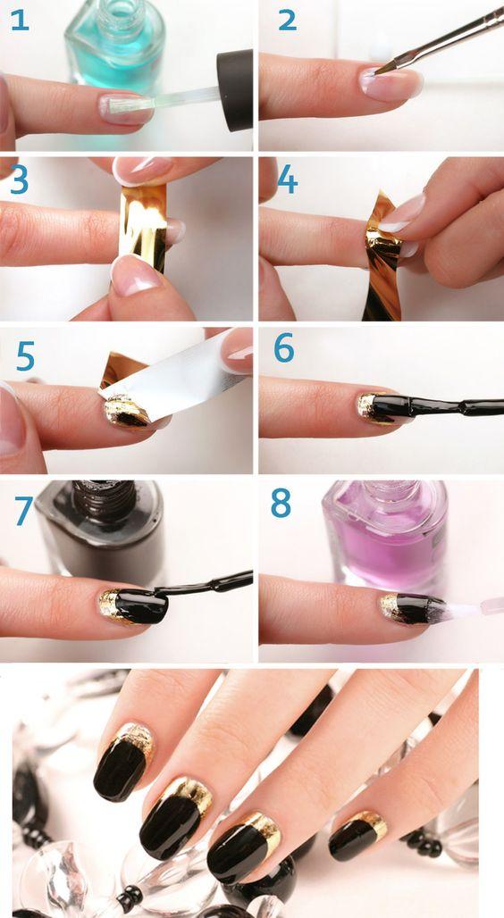 Как накрасить короткие ногти гель лаком