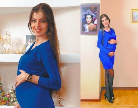 Евгения Лапова беременная