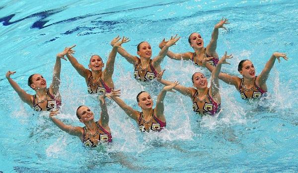 Женское синхронное плавание