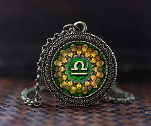 Кулоны со знаком зодиака Весы — символы, разновидности, стоимость