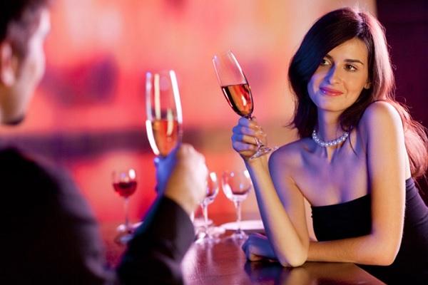 разговор в ресторане