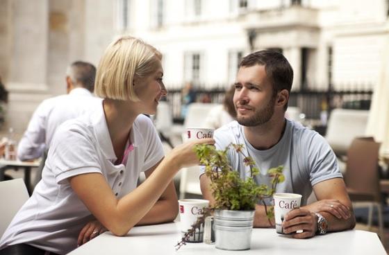 разговор девушки и парня