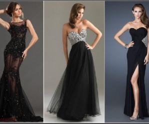 Тонкости выбора вечернего платья