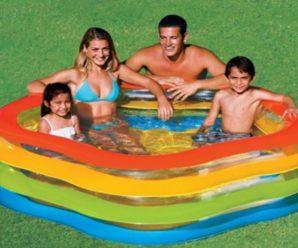 Минусы и плюсы детских надувных бассейнов
