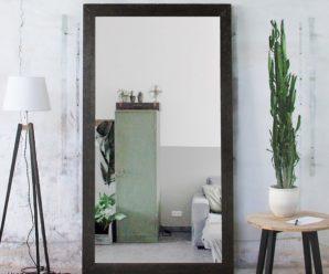 Напольное зеркало: преимущества, виды и правила размещения