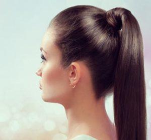 хвост волос