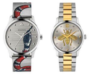 Взгляд на стиль сквозь часы Gucci